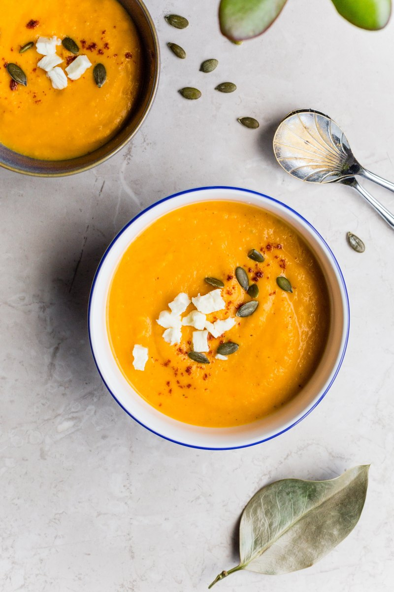 Creamy Ginger CarrotGazpacho